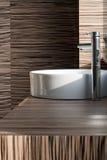 Modern bathroom detail stock image