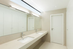 Modern bathroom Stock Images