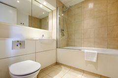 Simple bathroom interior, London Stock Photography