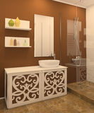 Modern bathroom interior. Stock Photo
