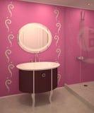 Modern bathroom interior. Stock Photo