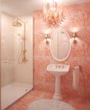 Modern bathroom interior. Stock Photos