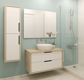 Modern bathroom interior. Stock Photography