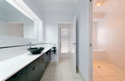 Modern Bathroom Interior Stock Images