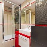 Modern bathroom interior Royalty Free Stock Photo
