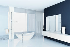 Modern bathroom interior Stock Photography