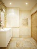Modern Bathroom Interior Design Stock Photography