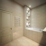 Modern Bathroom Interior Design Stock Photos