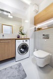 Modern bathroom interior design Stock Image
