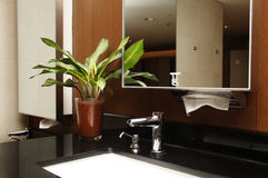 Modern Bathroom interior Modern Bathroom interior Royalty Free Stock Images