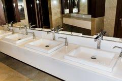 Modern bathroom interior , modern contemporary design Royalty Free Stock Image