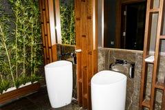 Modern bathroom interior , modern design Royalty Free Stock Photo