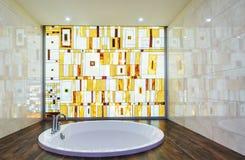 Modern bathroom interior Royalty Free Stock Photos