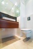 Modern bathroom interior Royalty Free Stock Photography