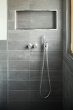 Modern bathroom, shower Stock Photography