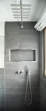 Modern bathroom, shower Royalty Free Stock Image