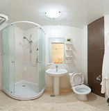 Modern bathroom shower. Stock Image