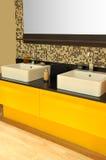 Modern bathroom sink Royalty Free Stock Image