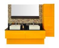 Modern bathroom sink Royalty Free Stock Photo