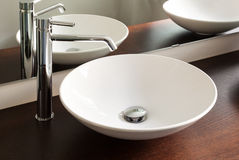 Modern bathroom, sink Stock Photography