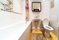 Modern bathroom in stylish flat Stock Photo