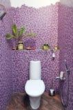 Modern bathroom in stylish flat Stock Photography