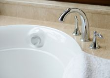 Modern bathtub Royalty Free Stock Images