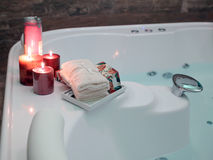 Modern bathtub Stock Image