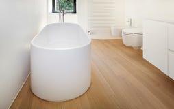 Modern bathtub Royalty Free Stock Photos