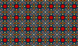 Modern Batik Pattern Vector. stock illustration