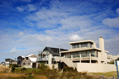 Modern beach homes Royalty Free Stock Photo