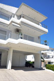 Modern Beach House Stock Images