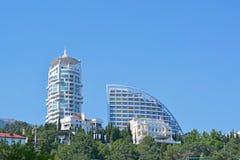 Modern beautiful buildings Royalty Free Stock Photos