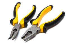 Modern and beautiful pliers Stock Photos