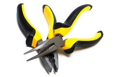Modern and beautiful pliers Stock Photography