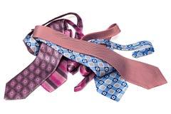 Modern beautiful ties Royalty Free Stock Photo