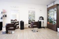 Modern beauty salon. Interior of a modern beauty salon stock photo