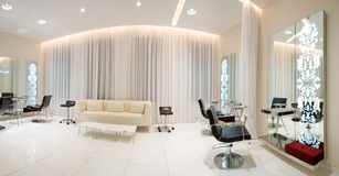 Modern beauty salon Royalty Free Stock Image