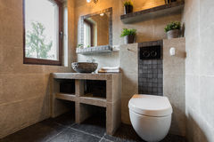 Modern beauty toilet Stock Photography
