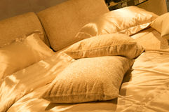 Modern bed Royalty Free Stock Photography
