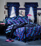 Modern Bed room set Royalty Free Stock Photos