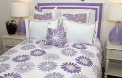 Modern bedding Stock Photo