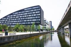 Modern bedrijfsbureau Stock Foto's