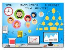 Modern bedrijfsconcept, team Stock Foto's