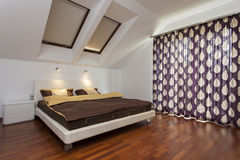 Modern bedroom Royalty Free Stock Images