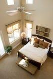 Modern bedroom Stock Photos