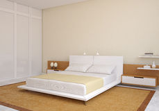 Modern bedroom. Stock Photo