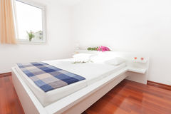 Modern bedroom Stock Image