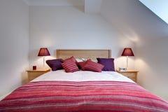 Modern Bedroom Chic Stock Photo