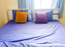 Modern bedroom. Royalty Free Stock Photography